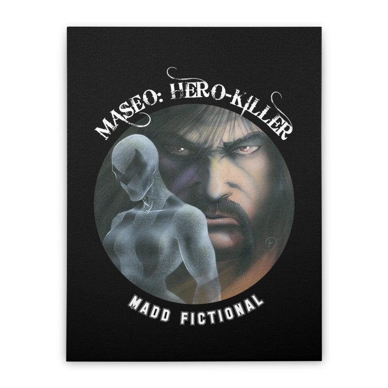 Maseo: Hero-Killer Home Stretched Canvas by MaddFictional's Artist Shop