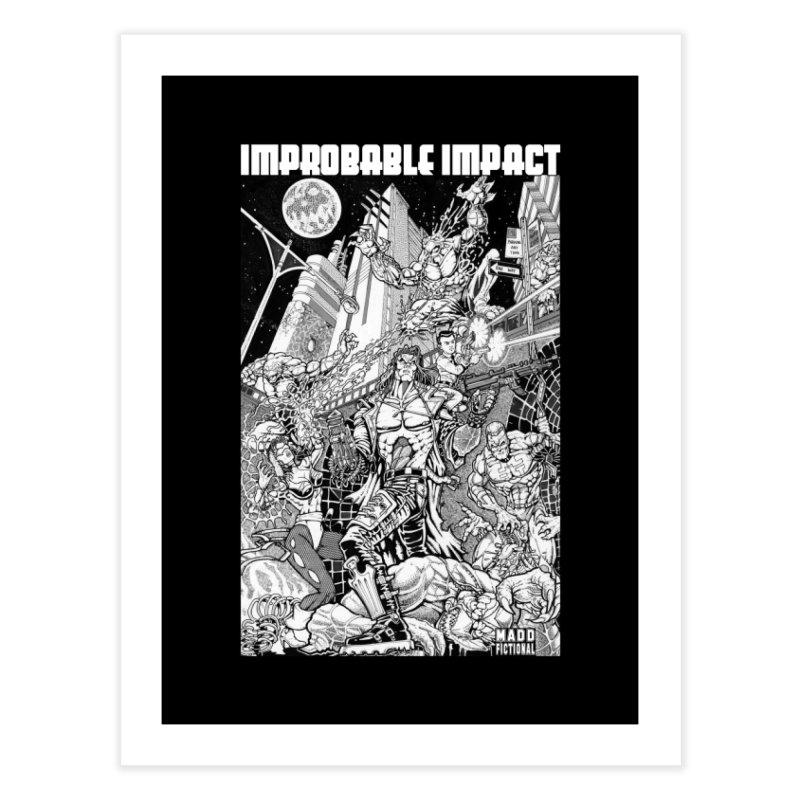 Trachnevid War - Improbable Impact Home Fine Art Print by MaddFictional's Artist Shop