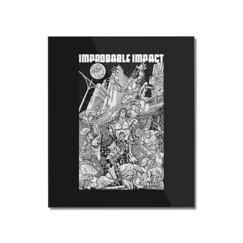 Trachnevid War - Improbable Impact Home Mounted Acrylic Print by MaddFictional's Artist Shop