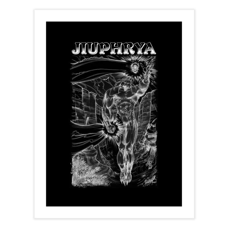 Jiuphrya - Visual Assault Home Fine Art Print by MaddFictional's Artist Shop
