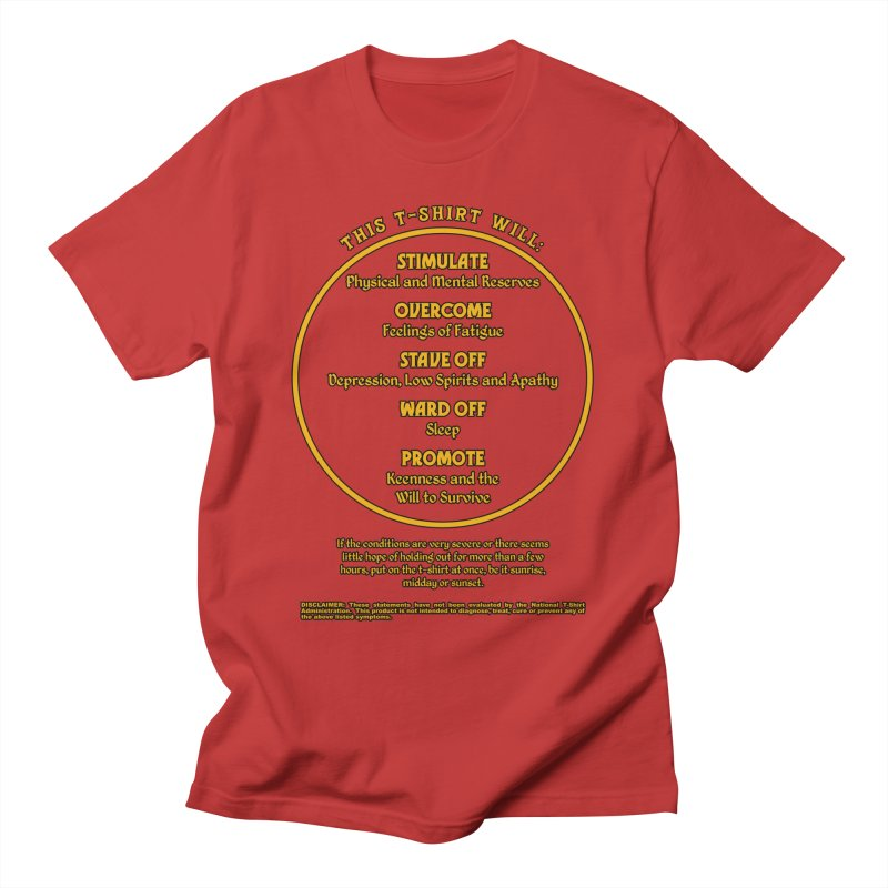 This T-Shirt Will Stimulate Men's T-Shirt by MaddFictional's Artist Shop