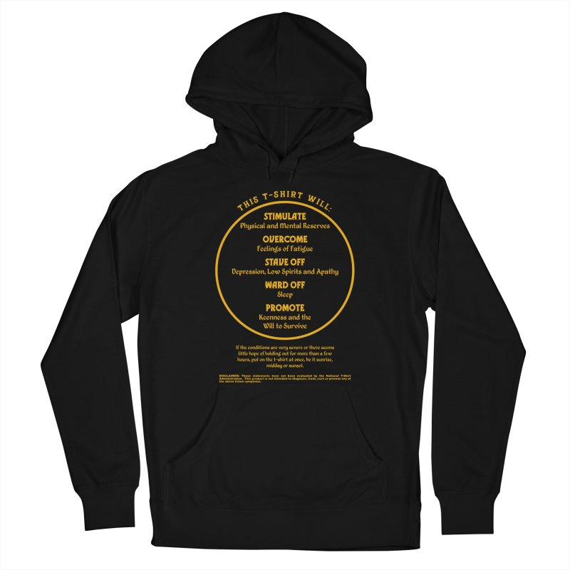 This T-Shirt Will Stimulate Men's Pullover Hoody by MaddFictional's Artist Shop