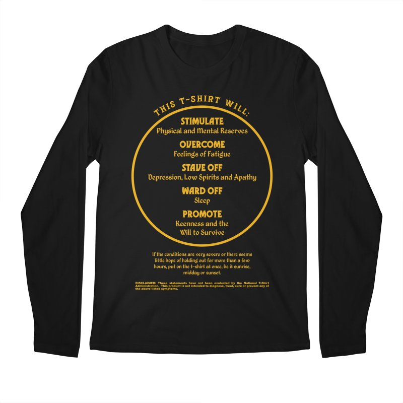 This T-Shirt Will Stimulate Men's Longsleeve T-Shirt by MaddFictional's Artist Shop