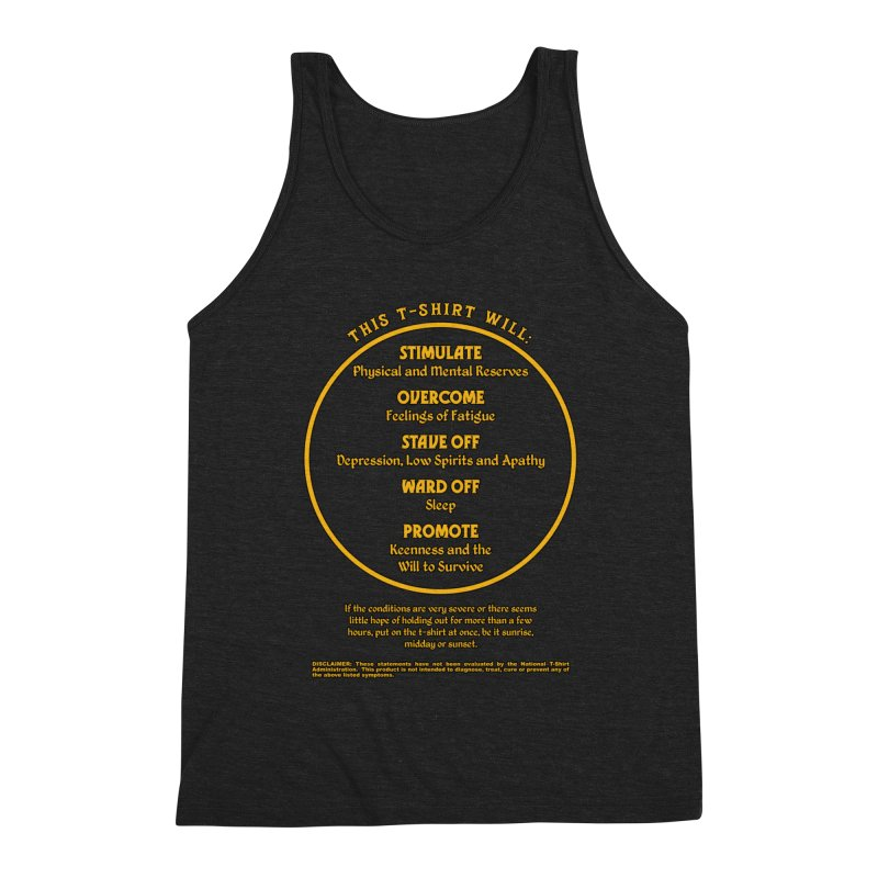 This T-Shirt Will Stimulate Men's Tank by MaddFictional's Artist Shop