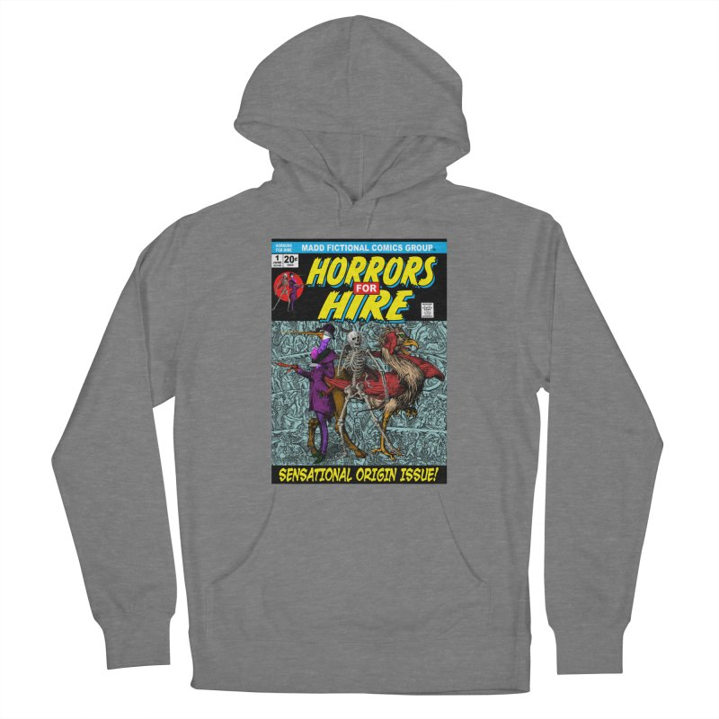 Horrors For Hire Comic Book Cover Women's Pullover Hoody by MaddFictional's Artist Shop