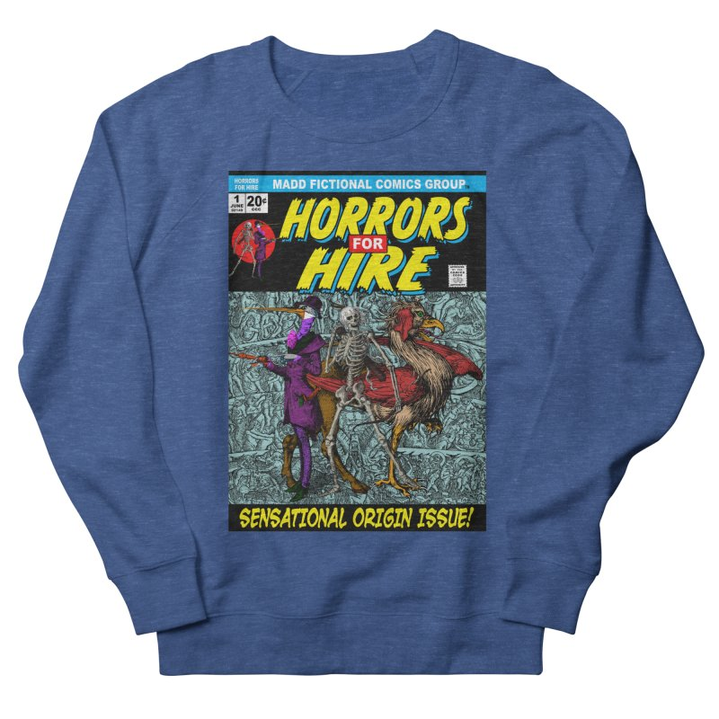 Horrors For Hire Comic Book Cover Women's Sweatshirt by MaddFictional's Artist Shop