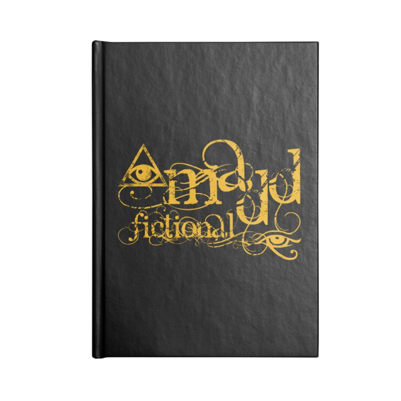 Madd Fictional All-Seeing Eye of Horus Accessories Notebook by MaddFictional's Artist Shop