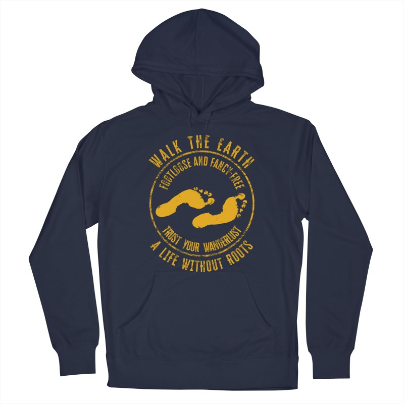 Walk The Earth Men's Pullover Hoody by MaddFictional's Artist Shop