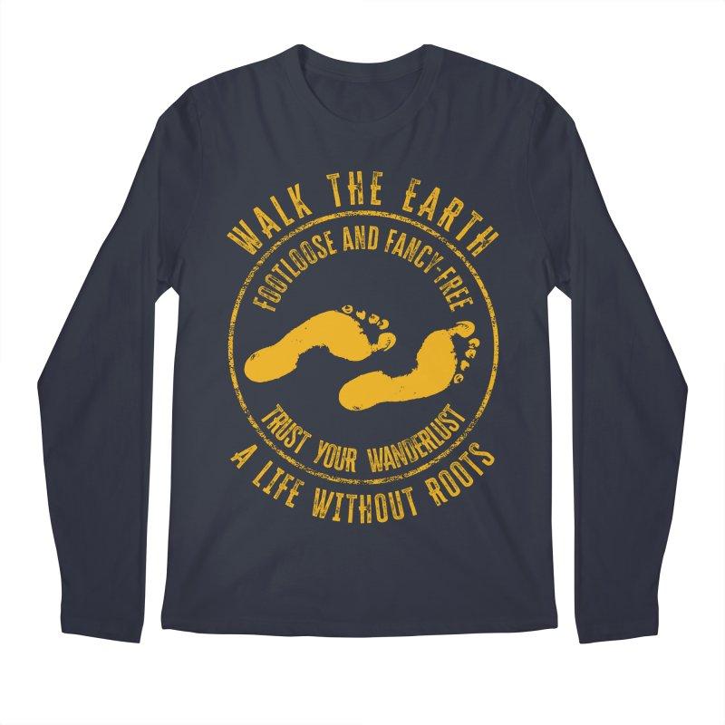 Walk The Earth Men's Longsleeve T-Shirt by MaddFictional's Artist Shop