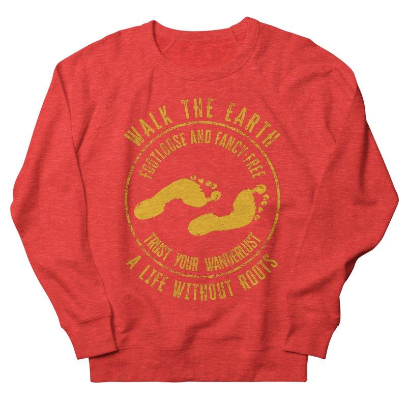 Walk The Earth Men's Sweatshirt by MaddFictional's Artist Shop