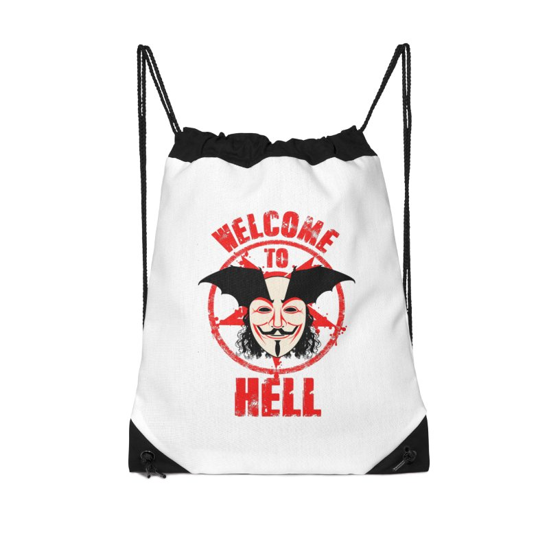 Welcome To Hell Accessories Bag by MaddFictional's Artist Shop