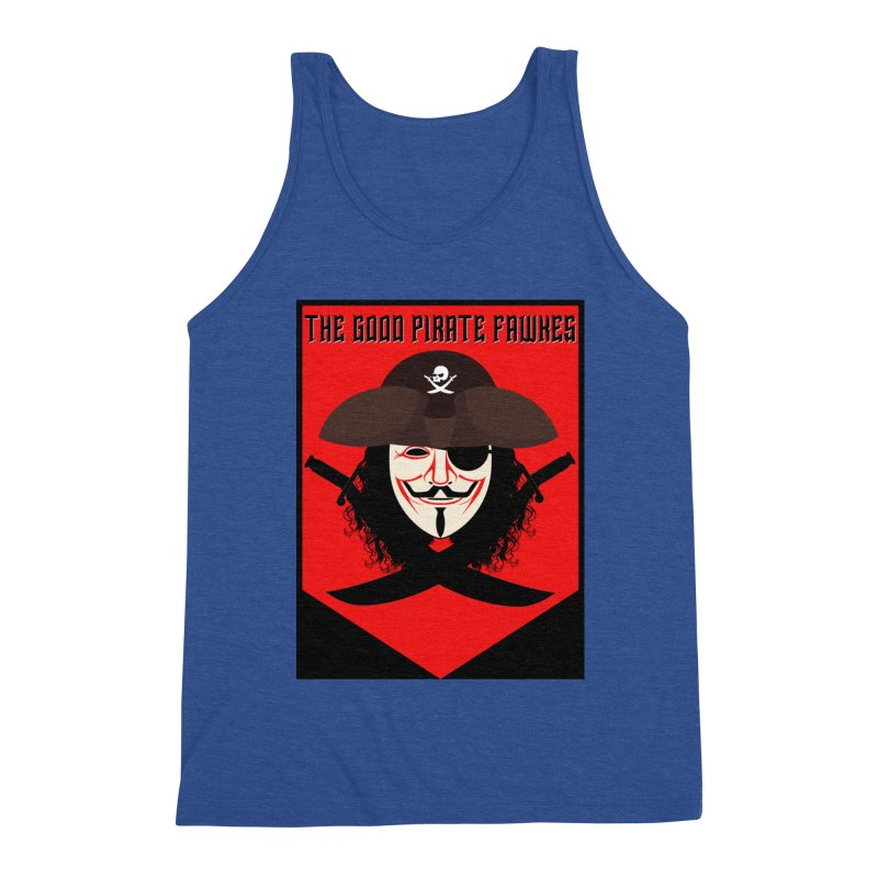 The Good Pirate Fawkes Men's Tank by MaddFictional's Artist Shop