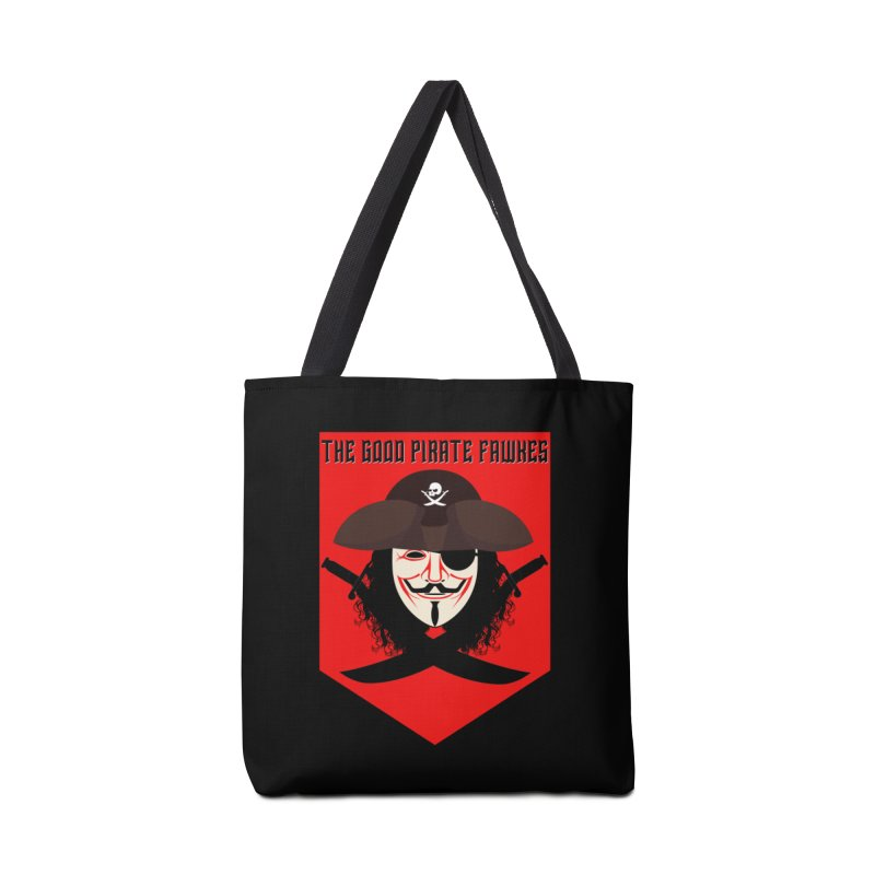 The Good Pirate Fawkes Accessories Bag by MaddFictional's Artist Shop