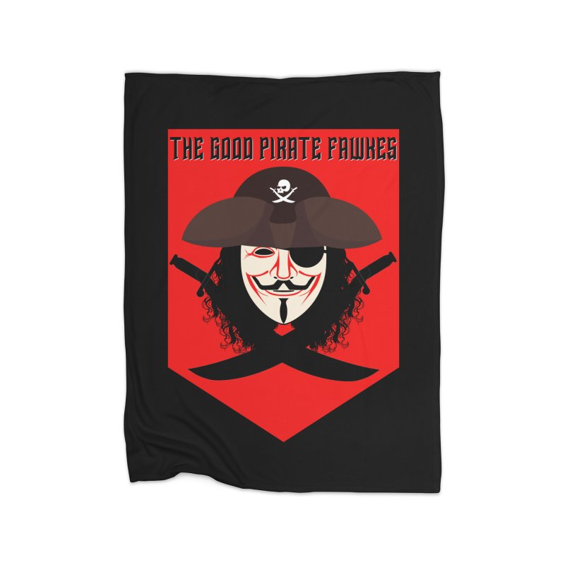 The Good Pirate Fawkes Home Blanket by MaddFictional's Artist Shop