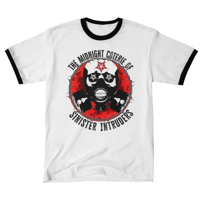 The Midnight Coterie of Sinister Intruders Men's T-Shirt by MaddFictional's Artist Shop