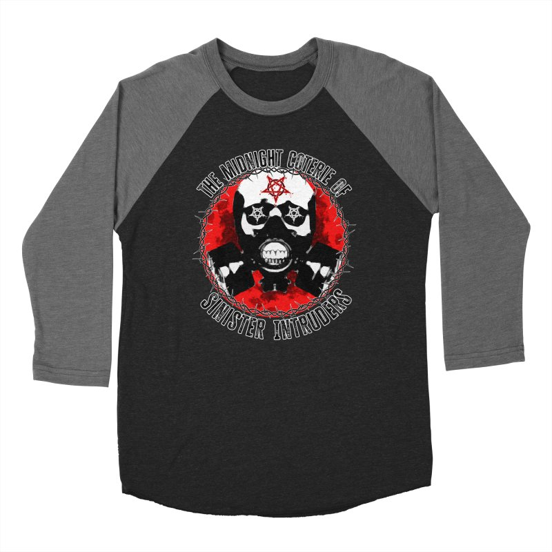 The Midnight Coterie of Sinister Intruders Women's Longsleeve T-Shirt by MaddFictional's Artist Shop