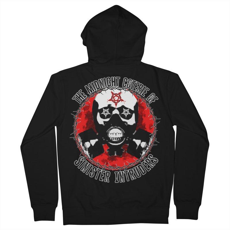 The Midnight Coterie of Sinister Intruders Women's Zip-Up Hoody by MaddFictional's Artist Shop