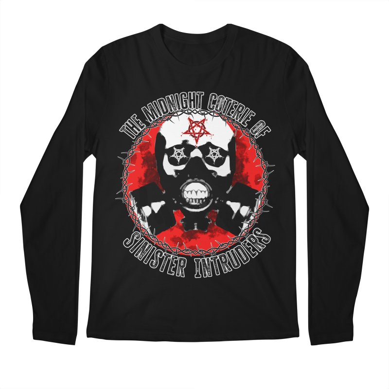 The Midnight Coterie of Sinister Intruders Men's Longsleeve T-Shirt by MaddFictional's Artist Shop