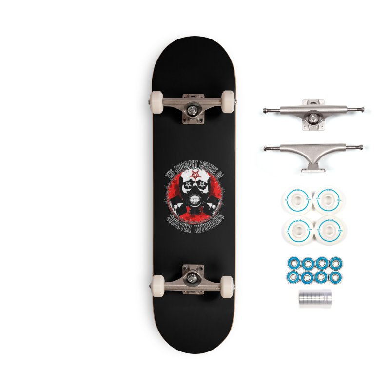 The Midnight Coterie of Sinister Intruders Accessories Skateboard by MaddFictional's Artist Shop