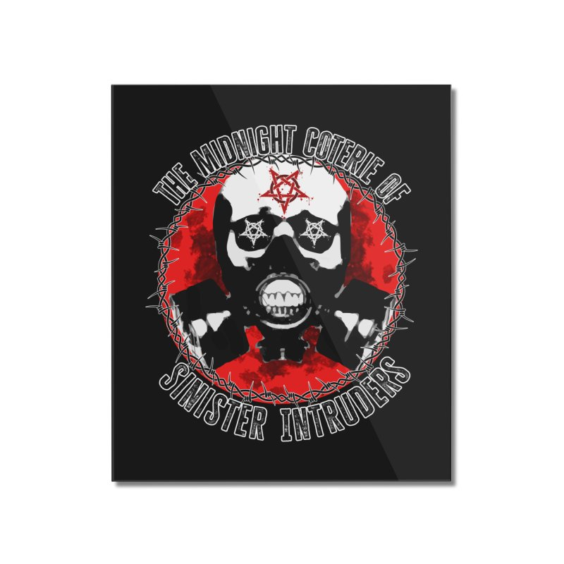 The Midnight Coterie of Sinister Intruders Home Mounted Acrylic Print by MaddFictional's Artist Shop