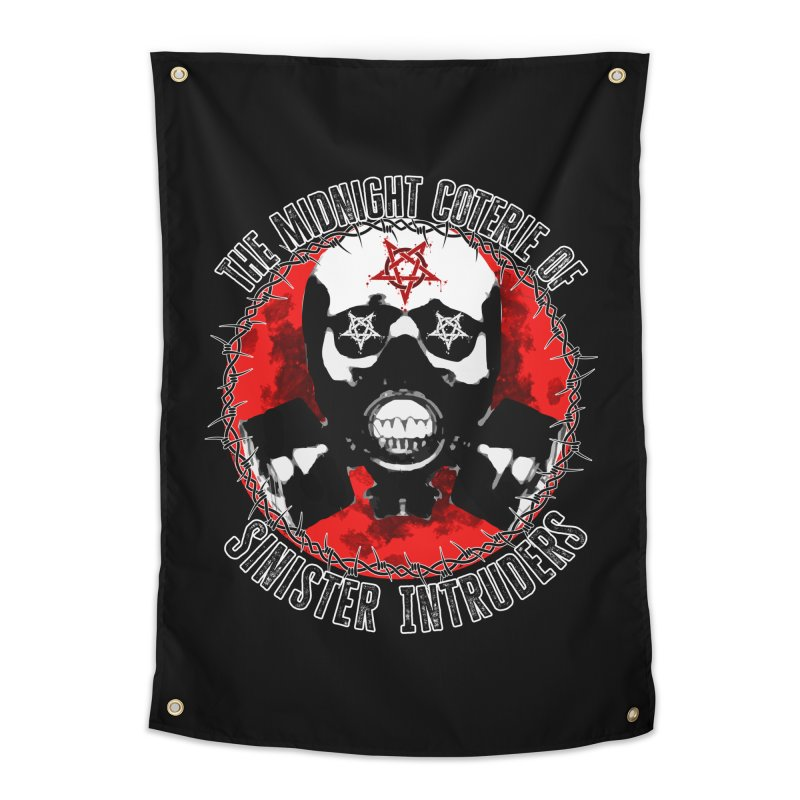 The Midnight Coterie of Sinister Intruders Home Tapestry by MaddFictional's Artist Shop