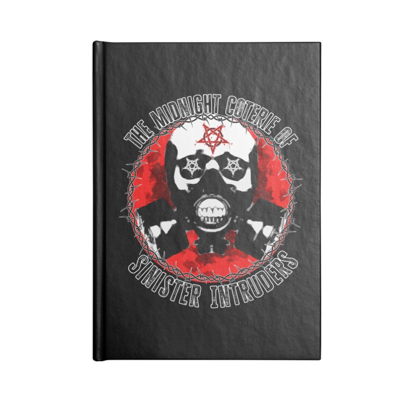 The Midnight Coterie of Sinister Intruders Accessories Notebook by MaddFictional's Artist Shop
