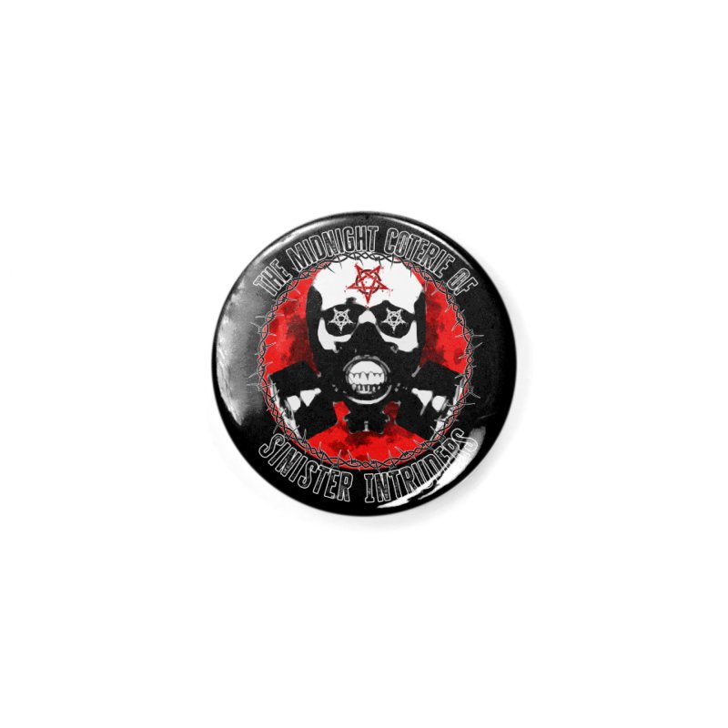 The Midnight Coterie of Sinister Intruders Accessories Button by MaddFictional's Artist Shop