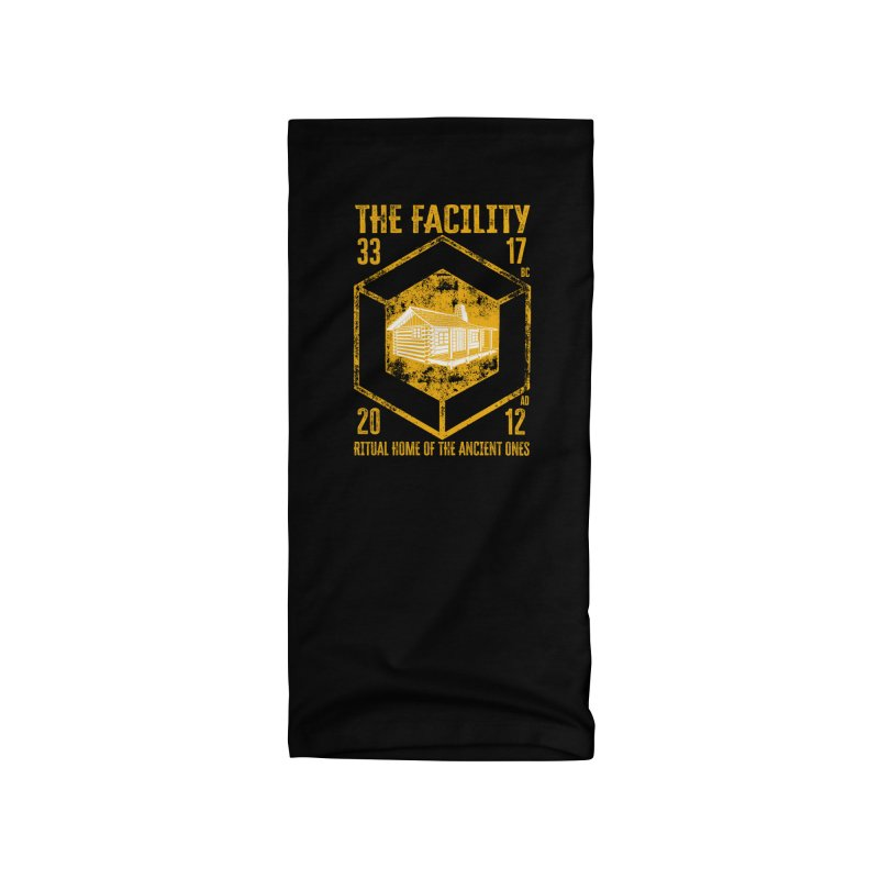 The Facility Accessories Neck Gaiter by MaddFictional's Artist Shop