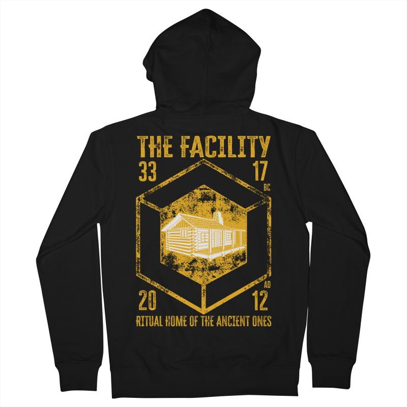 The Facility Men's Zip-Up Hoody by MaddFictional's Artist Shop