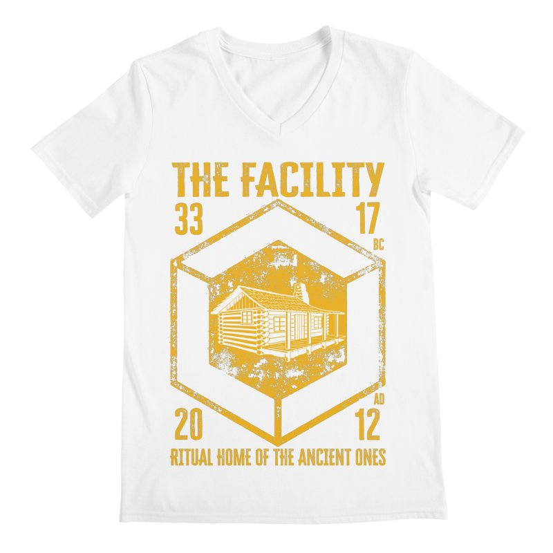 The Facility Men's V-Neck by MaddFictional's Artist Shop