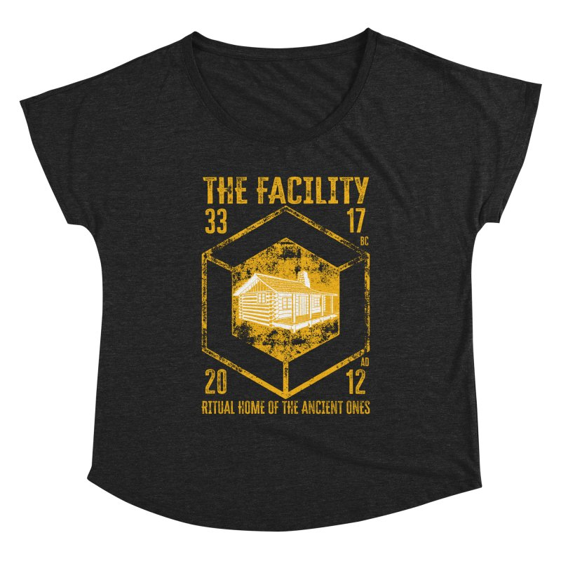 The Facility Women's Scoop Neck by MaddFictional's Artist Shop