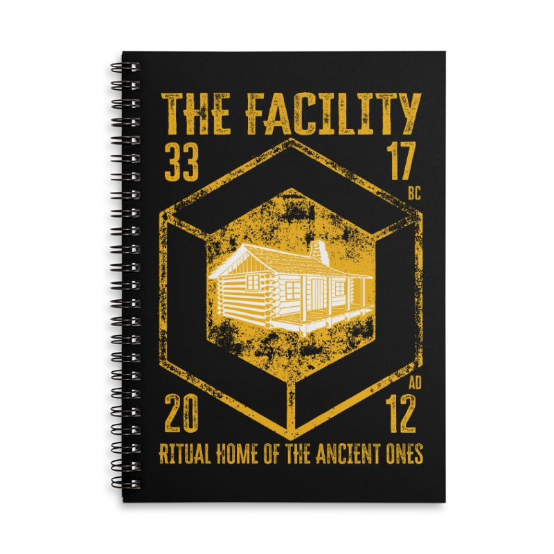 The Facility Accessories Notebook by MaddFictional's Artist Shop