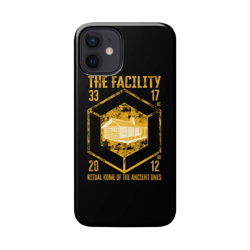 The Facility Accessories Phone Case by MaddFictional's Artist Shop