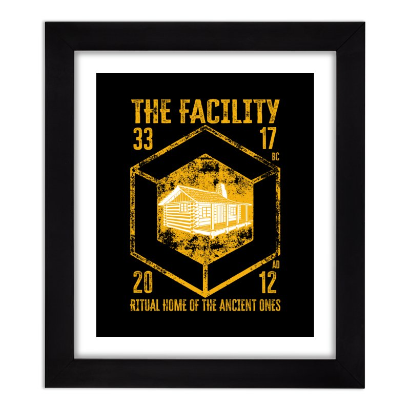 The Facility Home Framed Fine Art Print by MaddFictional's Artist Shop