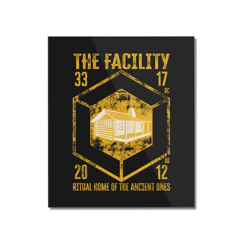 The Facility Home Mounted Acrylic Print by MaddFictional's Artist Shop