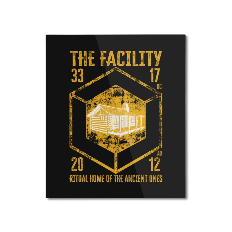 The Facility Home Mounted Aluminum Print by MaddFictional's Artist Shop