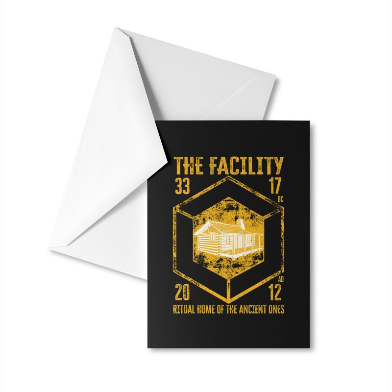 The Facility Accessories Greeting Card by MaddFictional's Artist Shop