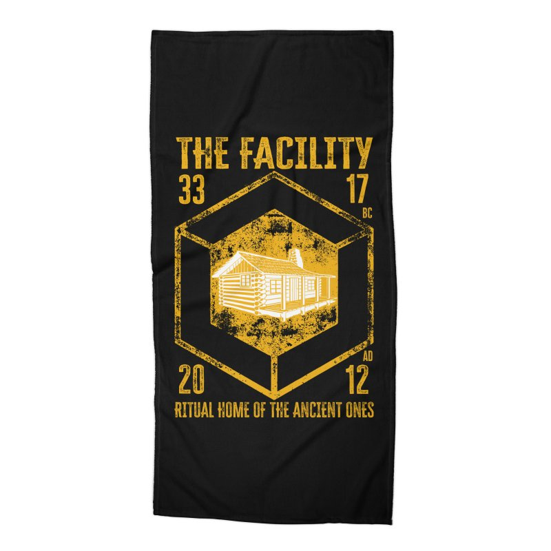 The Facility Accessories Beach Towel by MaddFictional's Artist Shop