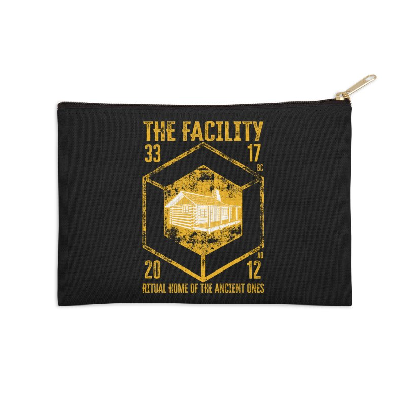 The Facility Accessories Zip Pouch by MaddFictional's Artist Shop