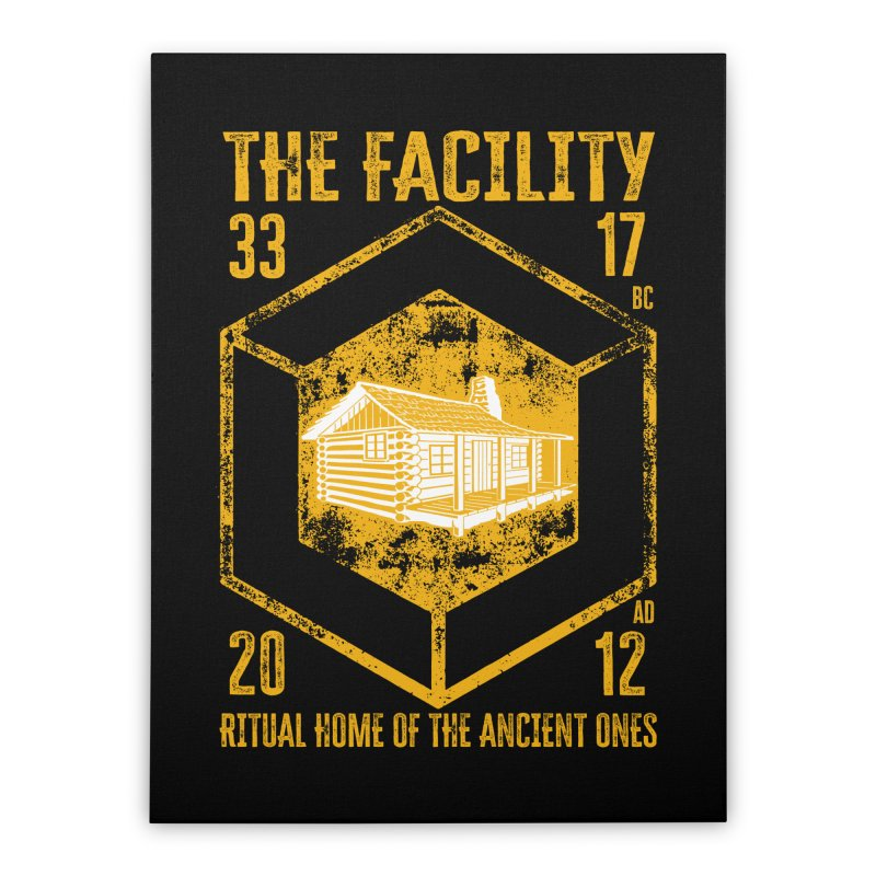 The Facility Home Stretched Canvas by MaddFictional's Artist Shop