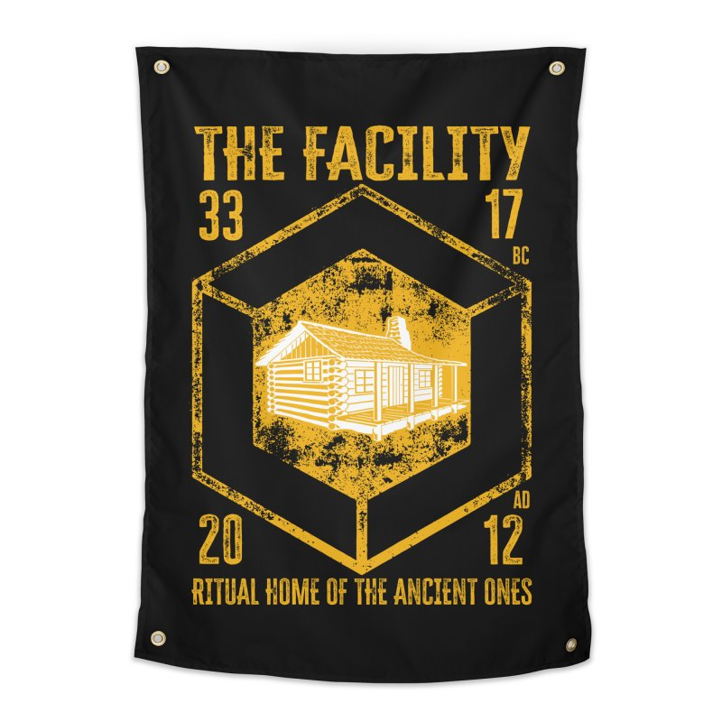 The Facility Home Tapestry by MaddFictional's Artist Shop