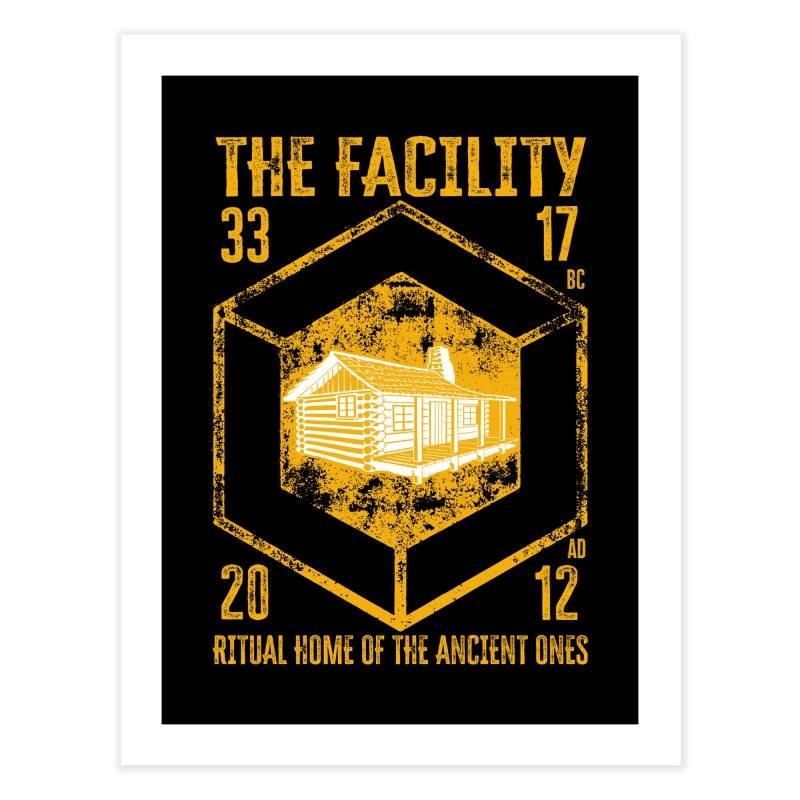 The Facility Home Fine Art Print by MaddFictional's Artist Shop