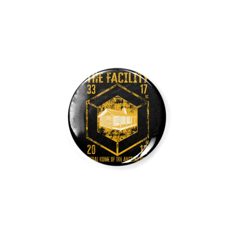 The Facility Accessories Button by MaddFictional's Artist Shop
