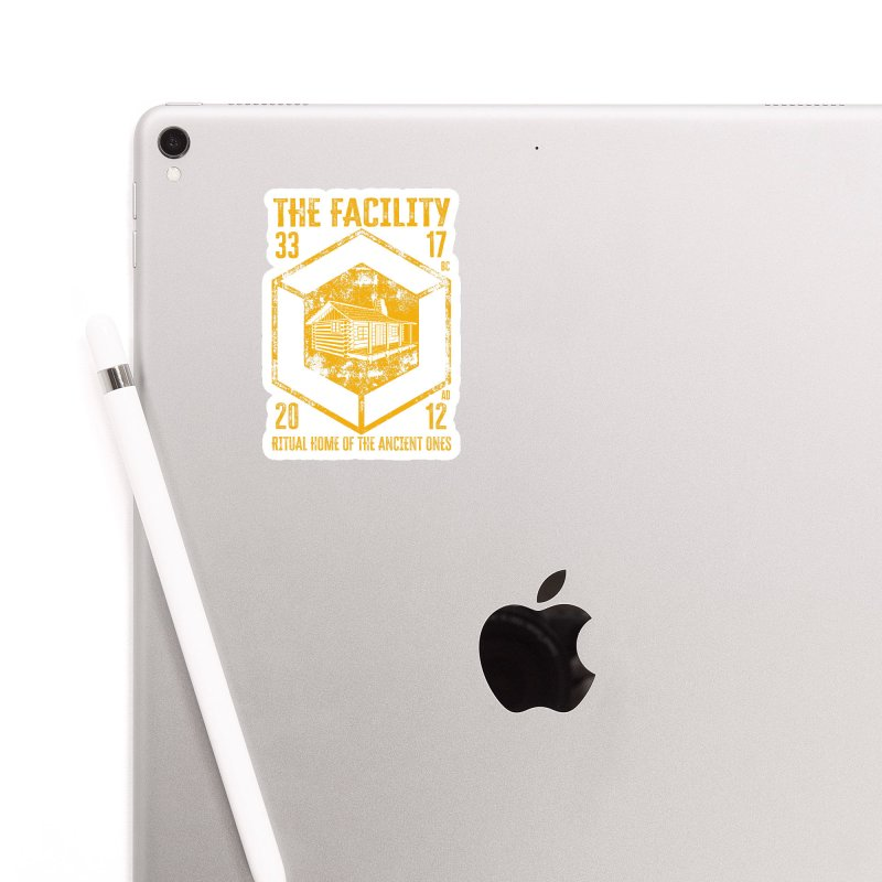The Facility Accessories Sticker by MaddFictional's Artist Shop