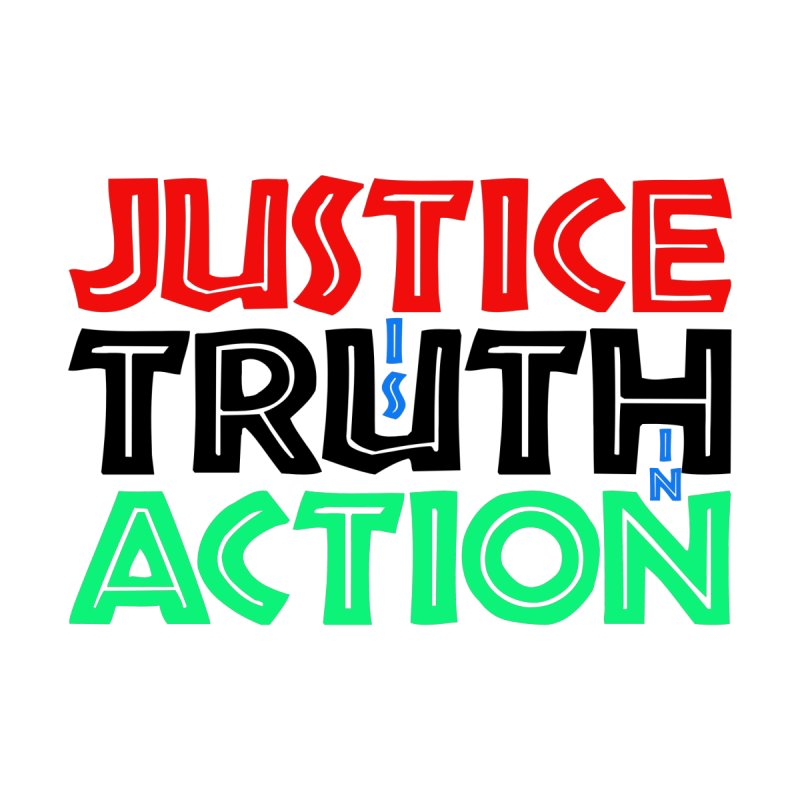 Justice is Truth in Action Accessories Greeting Card by MaddFictional's Artist Shop