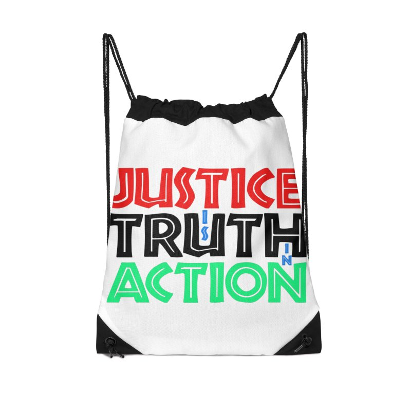 Justice is Truth in Action Accessories Bag by MaddFictional's Artist Shop