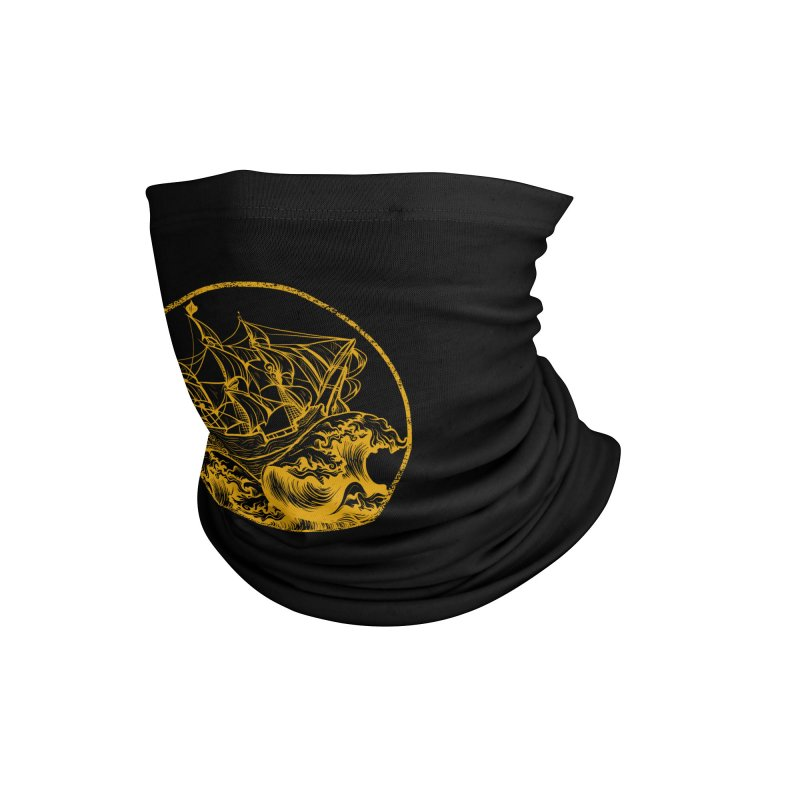 Ship To Wreck Accessories Neck Gaiter by MaddFictional's Artist Shop