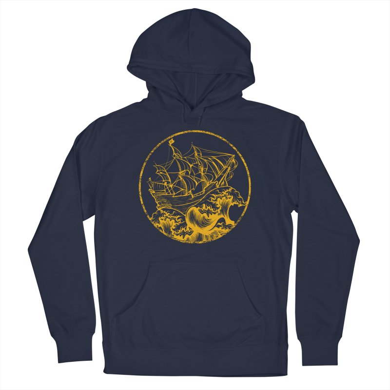 Ship To Wreck Men's Pullover Hoody by MaddFictional's Artist Shop