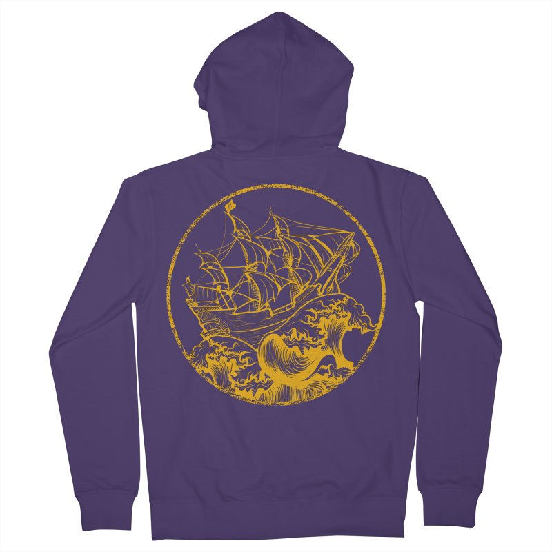 Ship To Wreck Women's Zip-Up Hoody by MaddFictional's Artist Shop