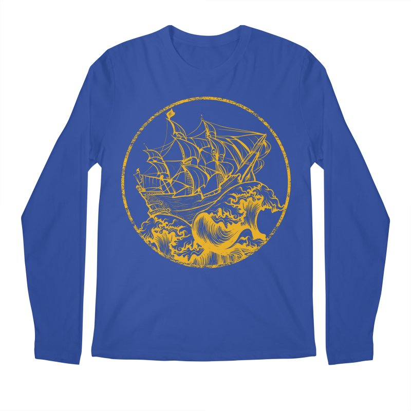 Ship To Wreck Men's Longsleeve T-Shirt by MaddFictional's Artist Shop